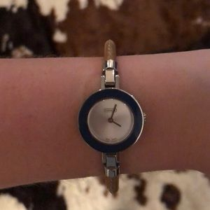 NEVER WORN - Coach Watch w/ Interchangeable Rings
